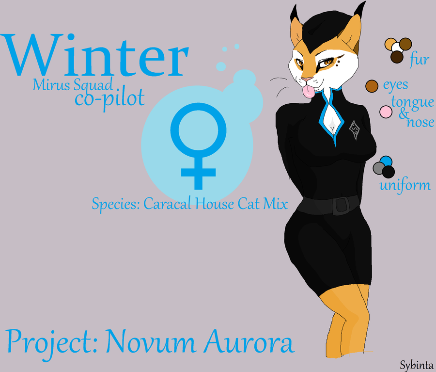 Winter complete form by BluWinterWolf