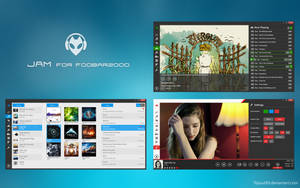 JAM for foobar2000 [Additional Screenshots] by FlipOut69