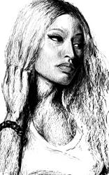 Nicki Minaj SketchBook Ink Samsung Galaxy Note