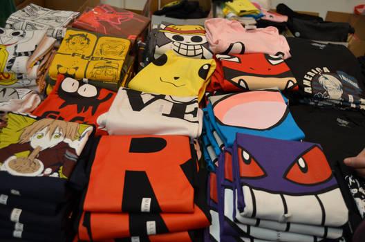 Japan Expo Sud 2012 - T-shirts