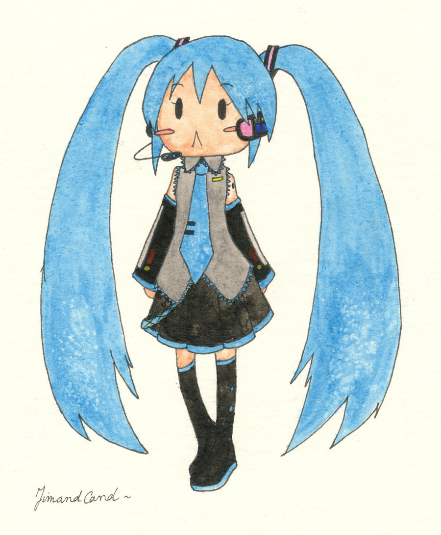 Miku Hatsune by N0XATI