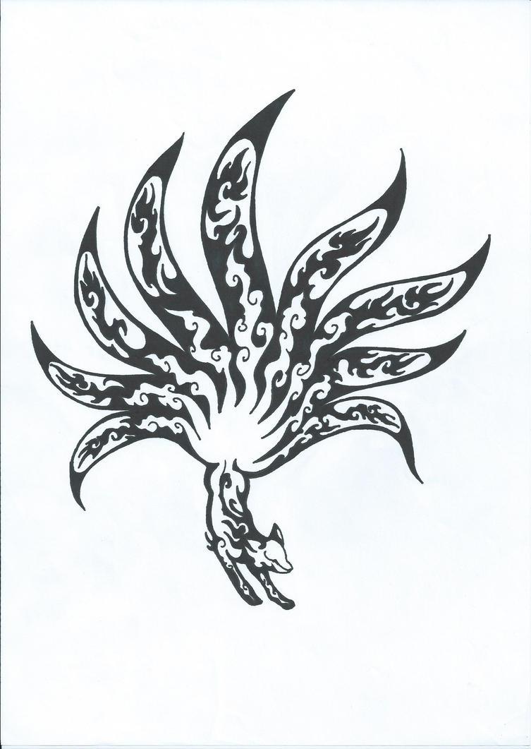 kitsune tatoo by greencharisard on deviantart. Black Bedroom Furniture Sets. Home Design Ideas