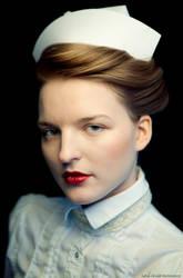 Gea dressed as a nurse by immanuel