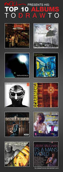 Macklin's Top 10 albums To Draw To