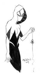 Inktober #1: Spider-Woman by mmacklin