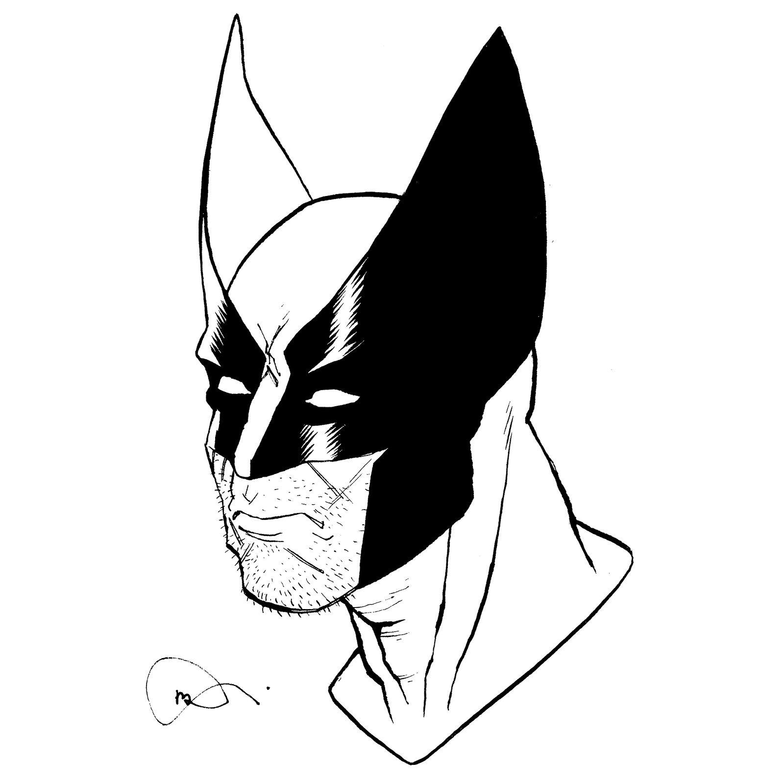 inktober Wolverine