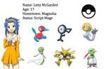 Levy McGarden Trainer Card