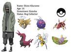 Shino Trainer Card