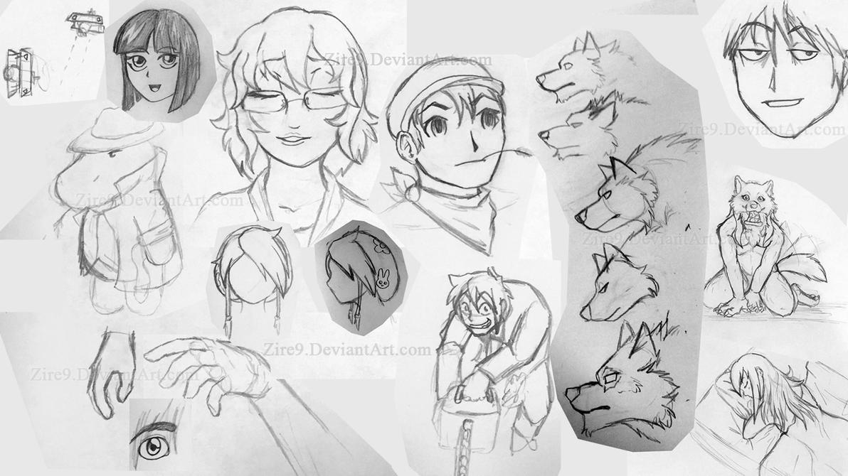 SketchesOfNovember 2015 01 by Zire9