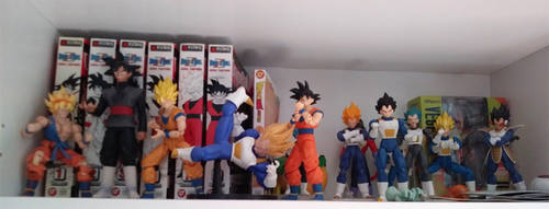 DBZ Collection So Far by Hellblaze