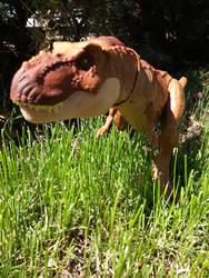 Tyrannosaurus on the prowl
