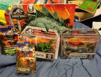 Jurassic World Haul Finished by Hellblaze