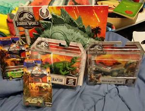 Jurassic World Haul Finished