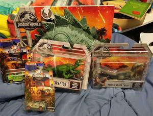 Jurassic World Haul Finished