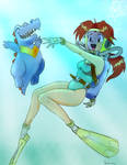 Delia used DIVE - by Shoxxe
