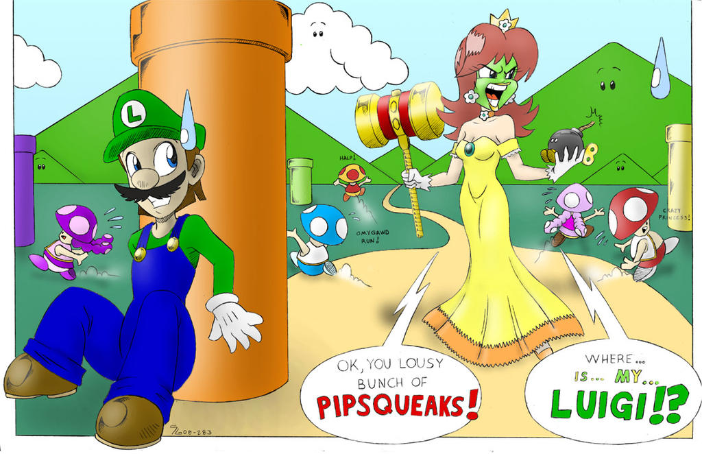 Rosalina And Luigi Comic – images free download