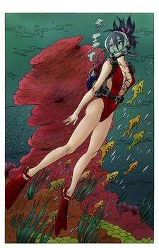Queen of the Deep - COLOR