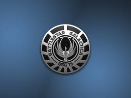 Battlestar Galactica Logo by cyberdrone2000
