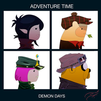 Adventure Time Demon Days by soletine
