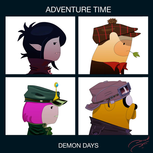 Adventure Time Demon Days