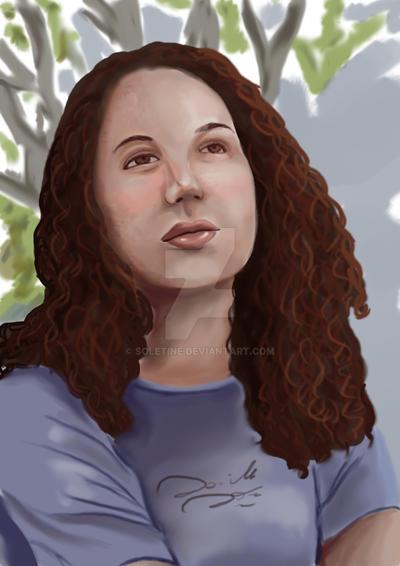 portrait by soletine