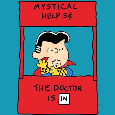 Mystical Help by soletine