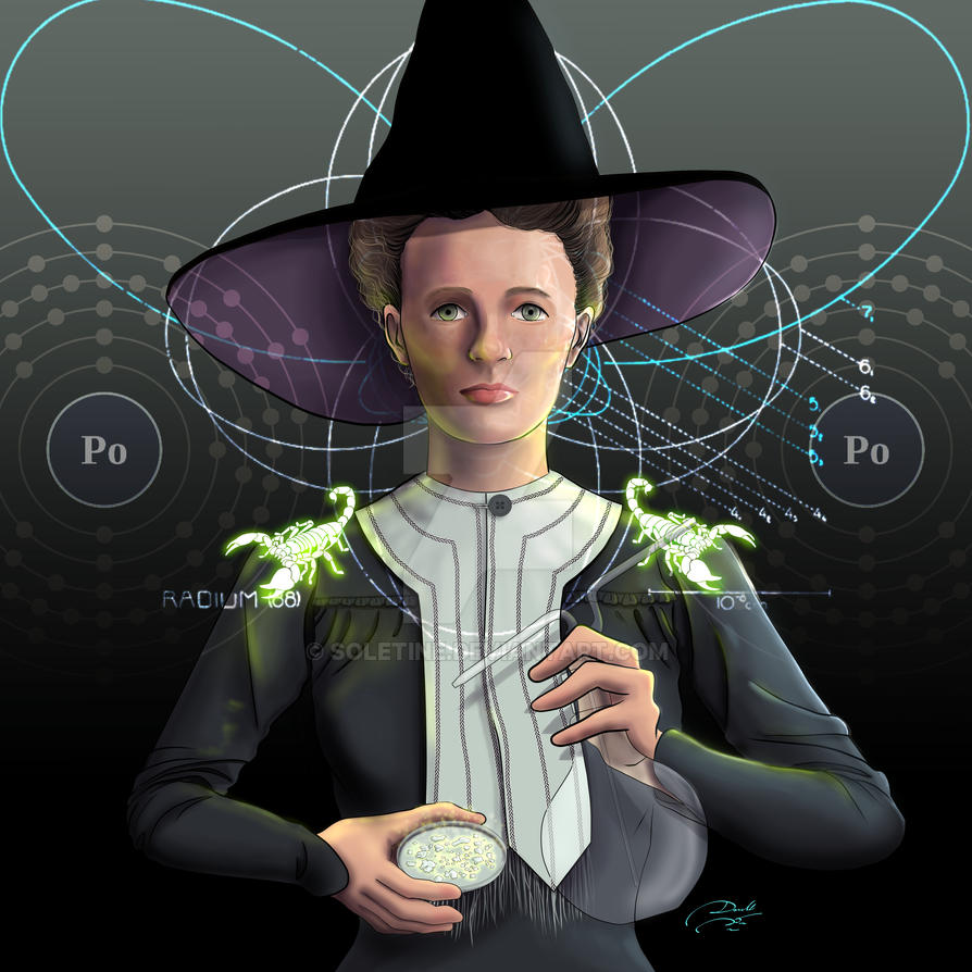 Marie Curie - Scorpio Witch by soletine