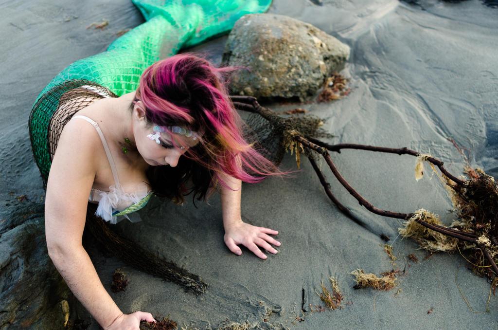 Lady of the sea. IV by iambowman