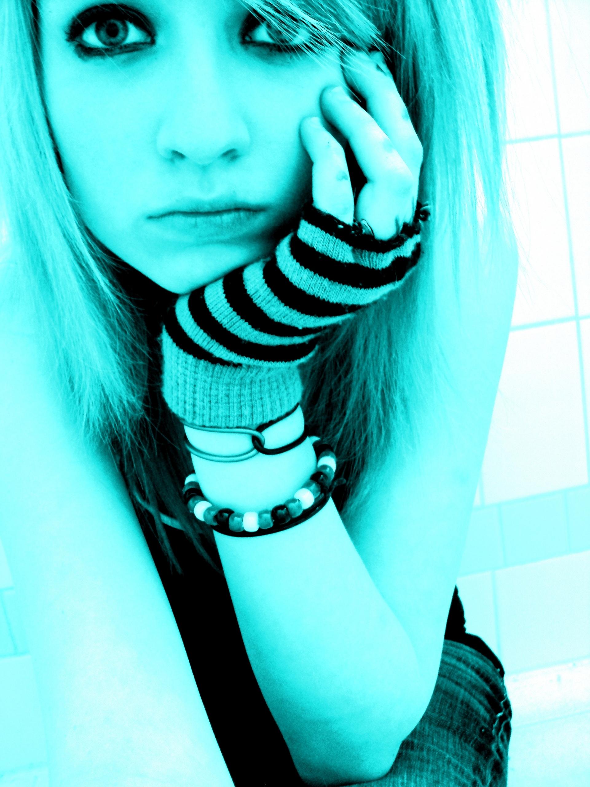 Фото самых красивых эмо девушек 18 фотография