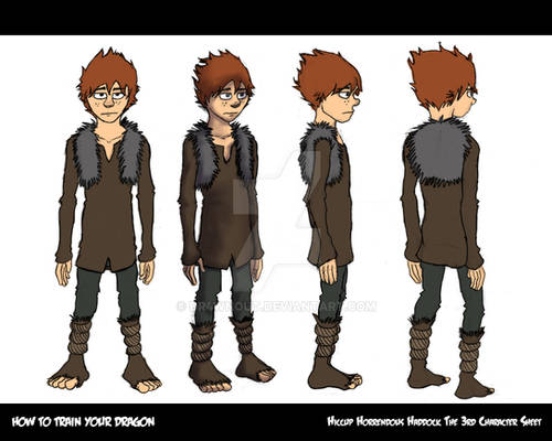 How To Train Your Dragon - Hiccup Turnaround