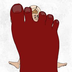 Kid Quicksand Vs Foot