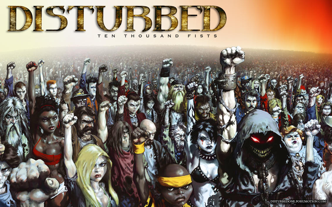 Disturbed 1000 fists