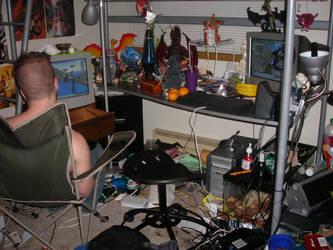 ZOMG what a mess by asha-dragon
