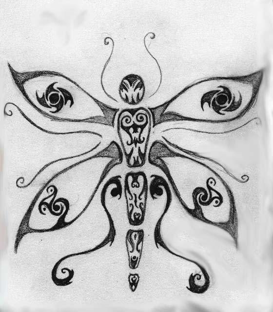 Dragon Fly tattoo - dragonfly tattoo