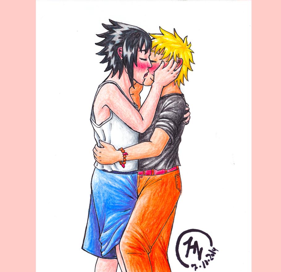 SasuNaru- Kiss Kiss fall in love by 6Zankukona6Tenshi6