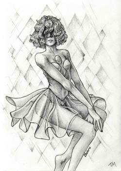 Blue Pearl Sketch