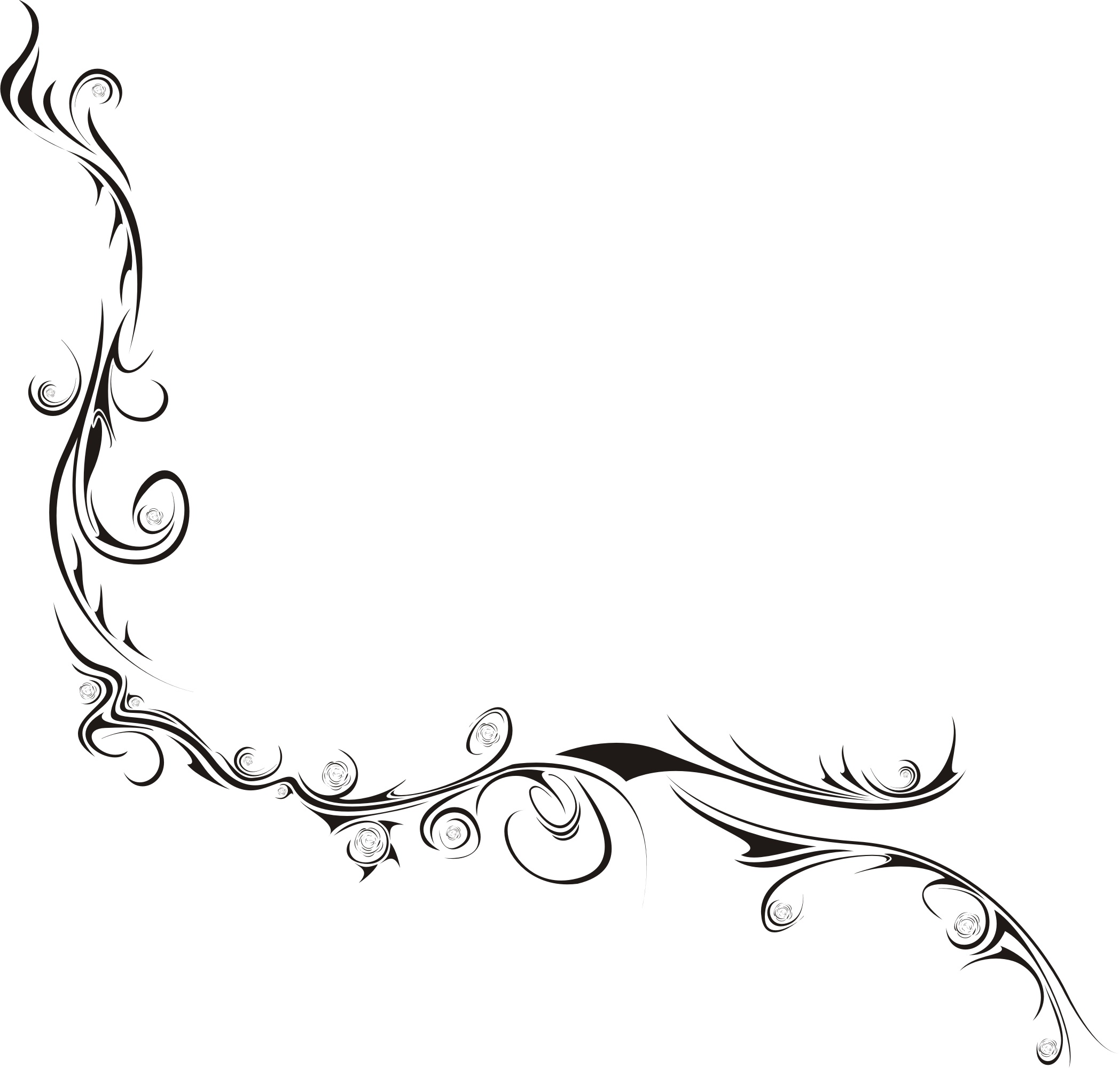 Line Art Vector : Tribal something by hyony on deviantart