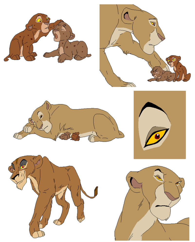 lion bases 5 by whitetigerdelight