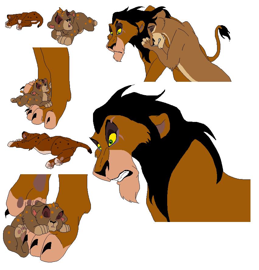 Lion Bases 6 By Whitetigerdelight On DeviantArt
