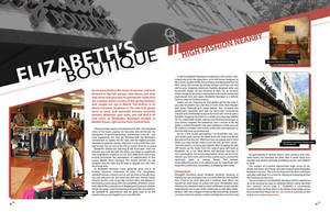 Magazine editorial layout by jeff051477