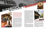 Magazine editorial layout