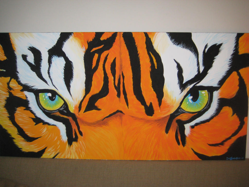 Tiger Eyes 02 By BreakerJoe