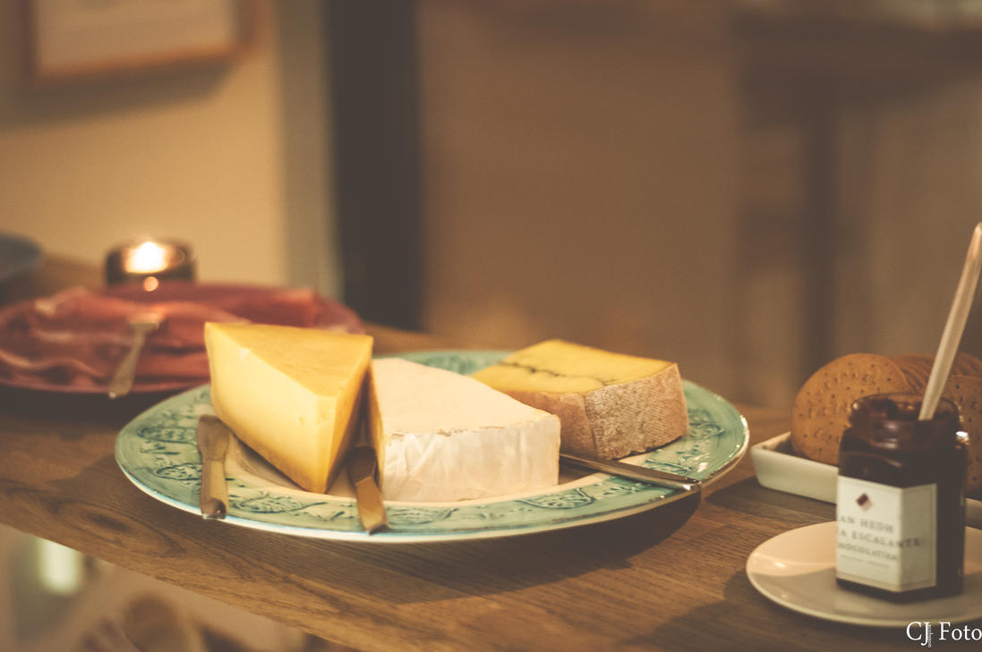 Cheese and marmalade by CJacobssonFoto
