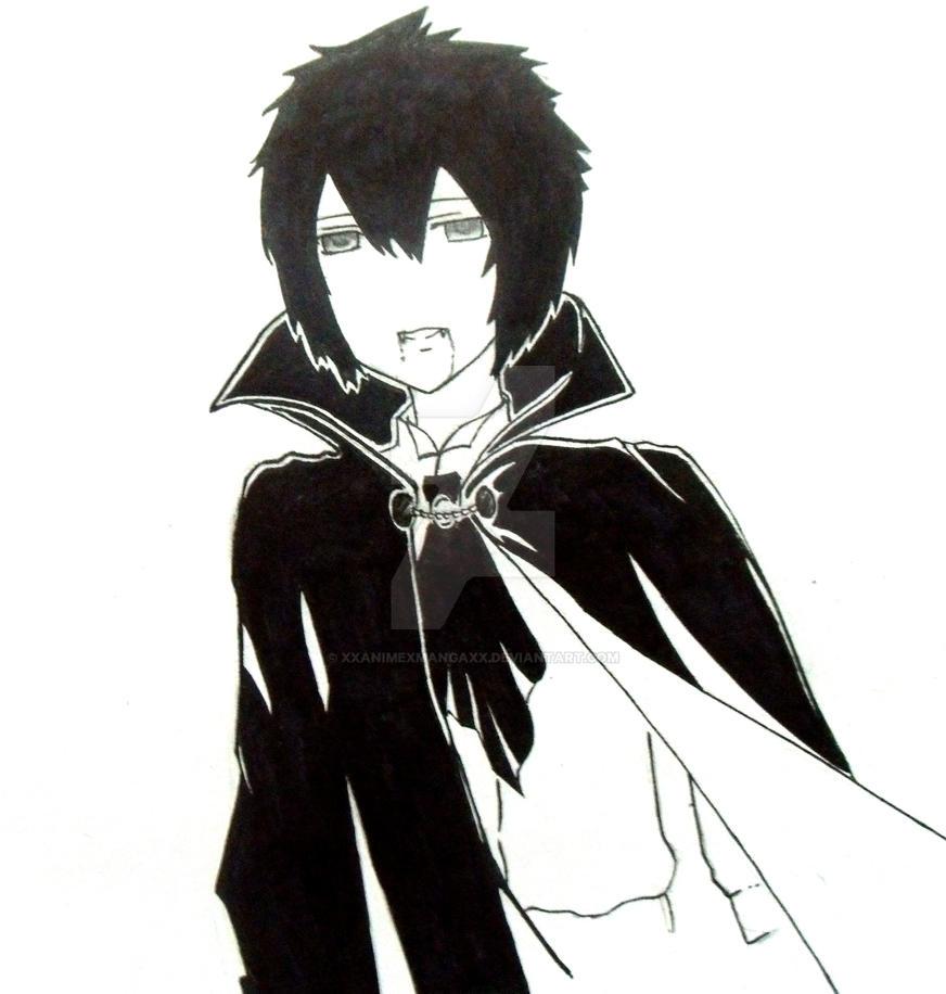 Anime Vampire Boy by XxAnimexMangaxX on DeviantArt