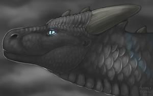 Aiyo Profile Speedpaint by Scaleeth