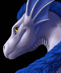 [Commission] Rooth'ragon Portrait by Scaleeth