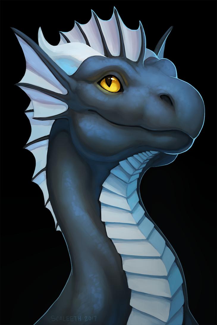 Morghus Speedpaint Portrait by Scaleeth