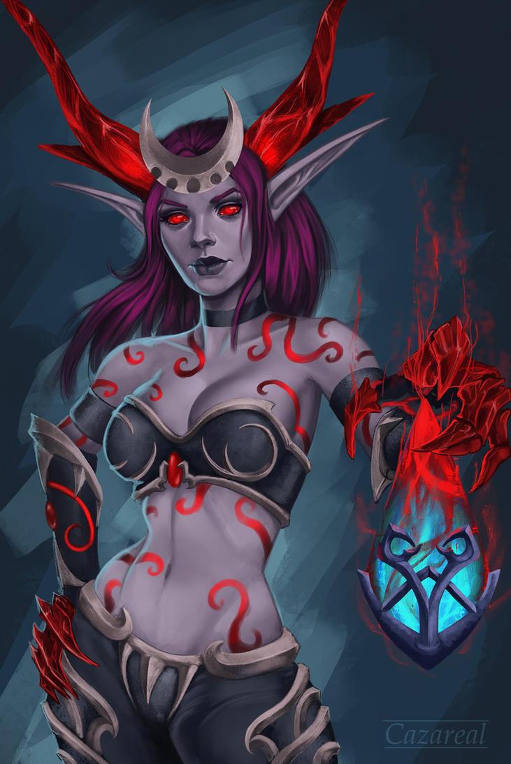 Nightmare Ysera by Cazareal