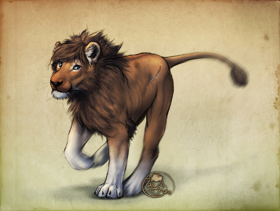 Little Lion Man by LeoNoy