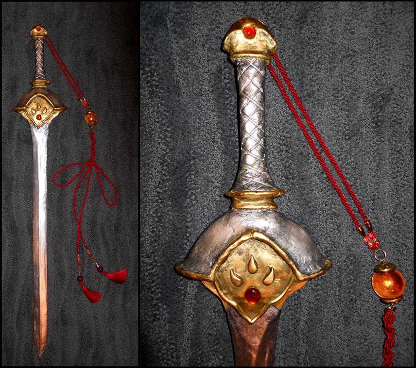 TRC: Syaoran's Sword by bekalou-cosplay